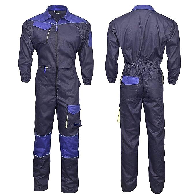 purchase cheap 0969b 97466 NORMAN Marineblau Herren Arbeitskleidung Latzhose ...