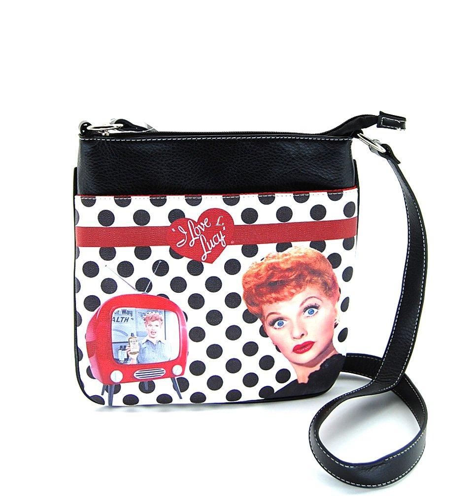 I Love Lucy LU811 Cross Body Bag, Messenger Purse