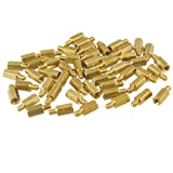 uxcell M3 Male to Female 8mm Hexagonal Brass PCB
