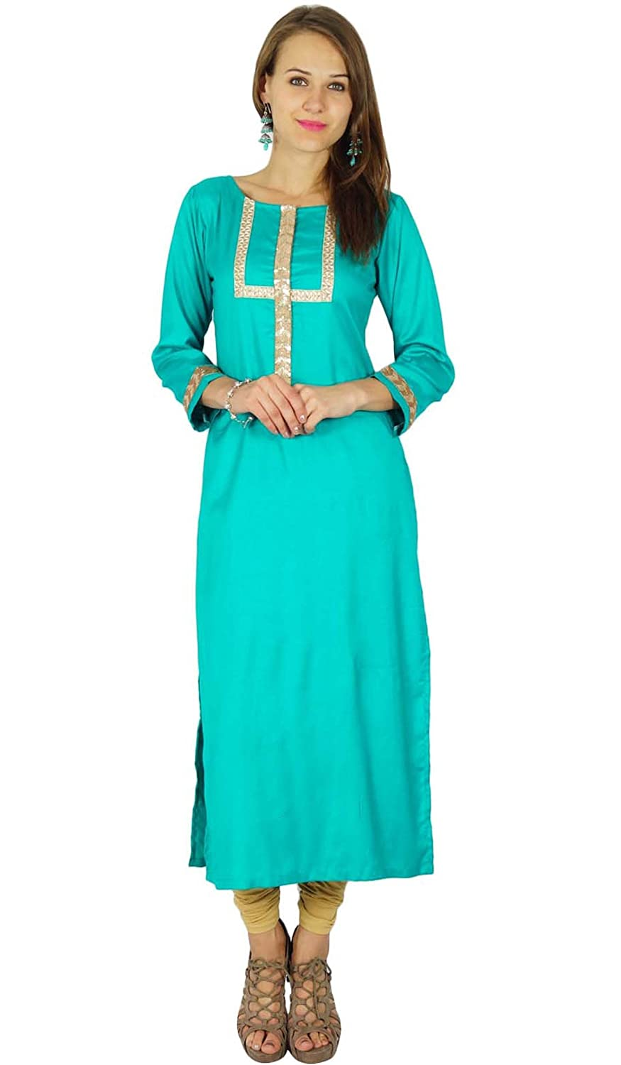 Phagun Indian Designer Bollywood Kurta Women Ethnic Kurti Casual Tunic Dress