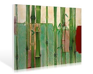 Schon Leinwandbild Bambus 2 Von Unda M., 45 X 30cm, Motiv Bis An Die