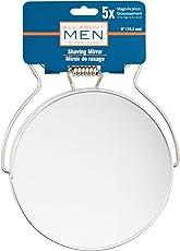 All About Men cromo afeitado espejo, aumento 5x