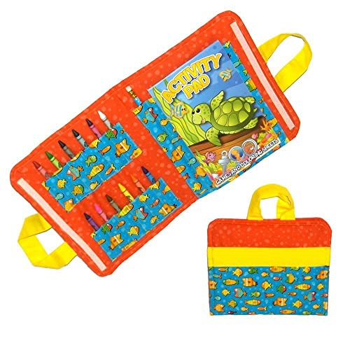 Amazon.com: Fish Car Trip Toys - Kids Coloring Kit for Travel ...
