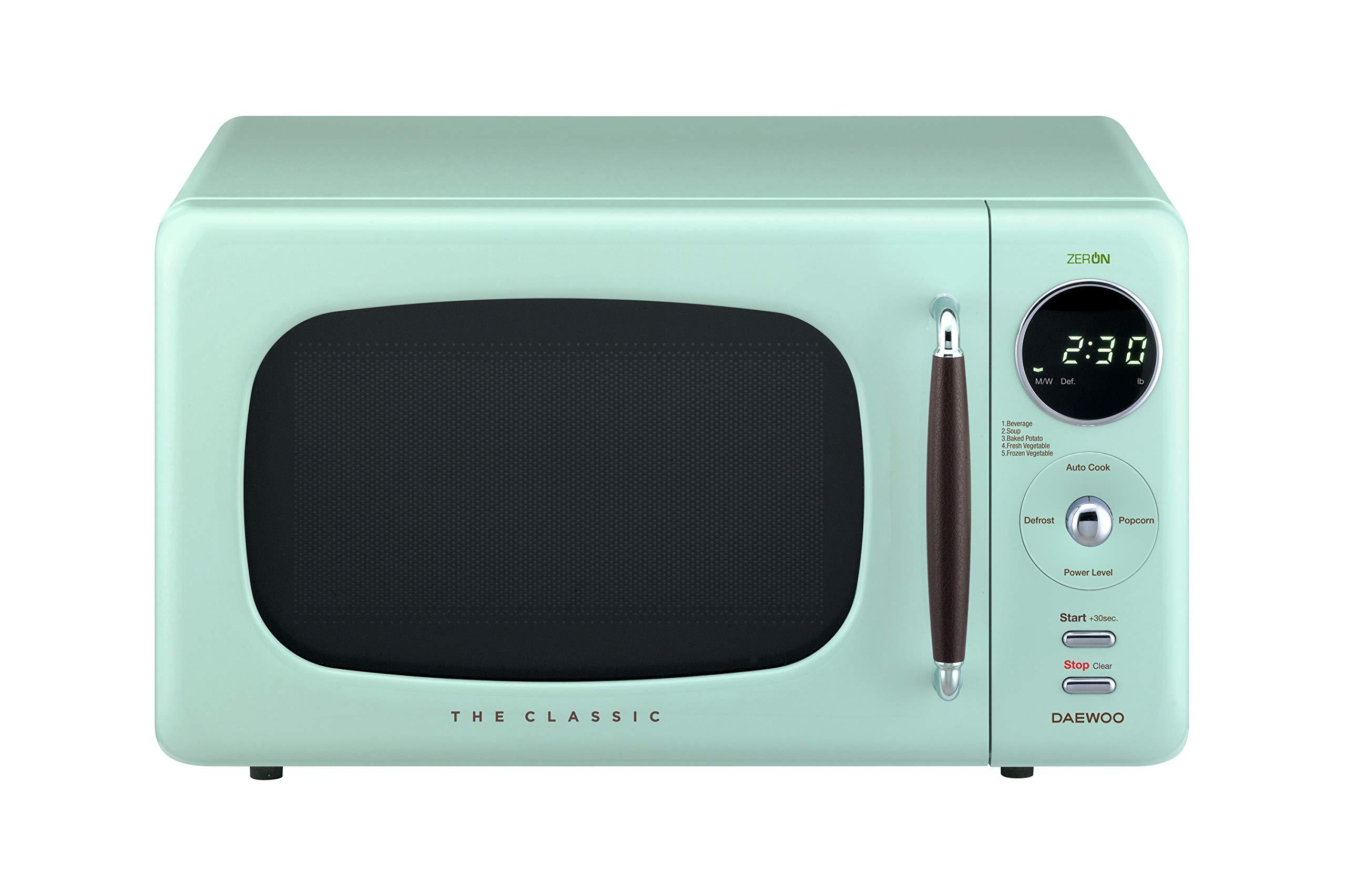 Daewoo KOR07R3ZEM Microwave, Mint