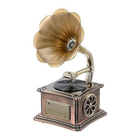 YWAWJ Regalo de Europa y América clásico fonógrafo Retro del ...