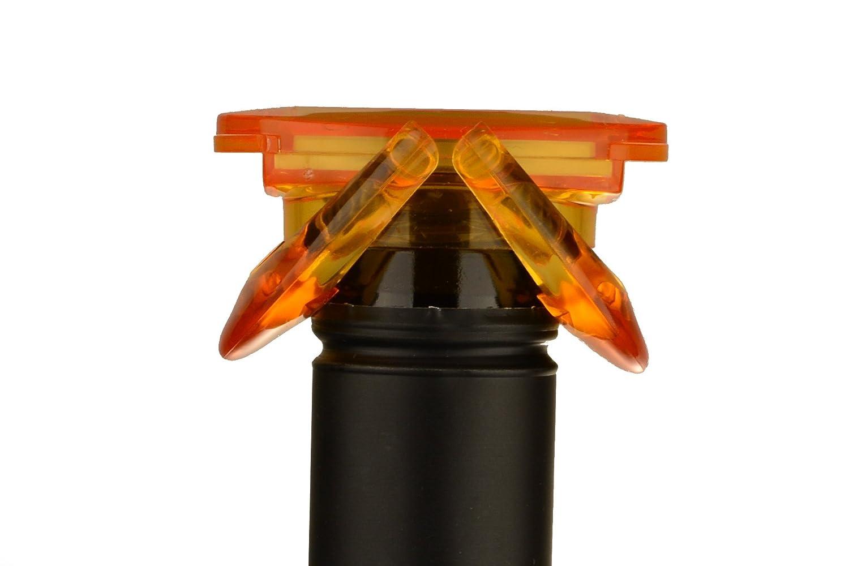 UFO Sekt /& Champagnerverschluss orange Flaschenverschluss Verschluss