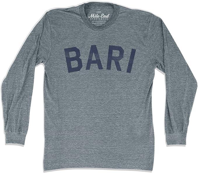 Bari City Vintage Long-Sleeve T-shirt