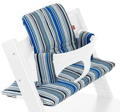 Stokke - Cojín para tripp trapp ocean stripe multicolor ...