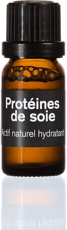 Proteína de seda, 10 ml.Producto activo que da brillo, hidrata, alisa y moldea.