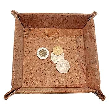 boshiho corcho Jewelry CatchAll clave caja monedero EDC ...