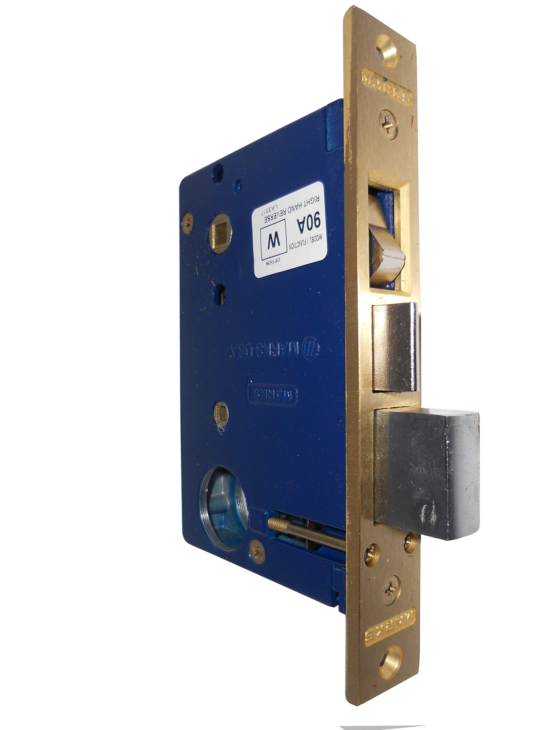 Marks 22AC Right Hand Reverse Mortise Lock Body for Iron Gate Doors