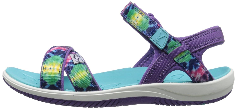 K Purple Tie Dye 6 M US Big Kid Phoebe KEEN Phoebe Sandal Little Kid//Big Kid Y