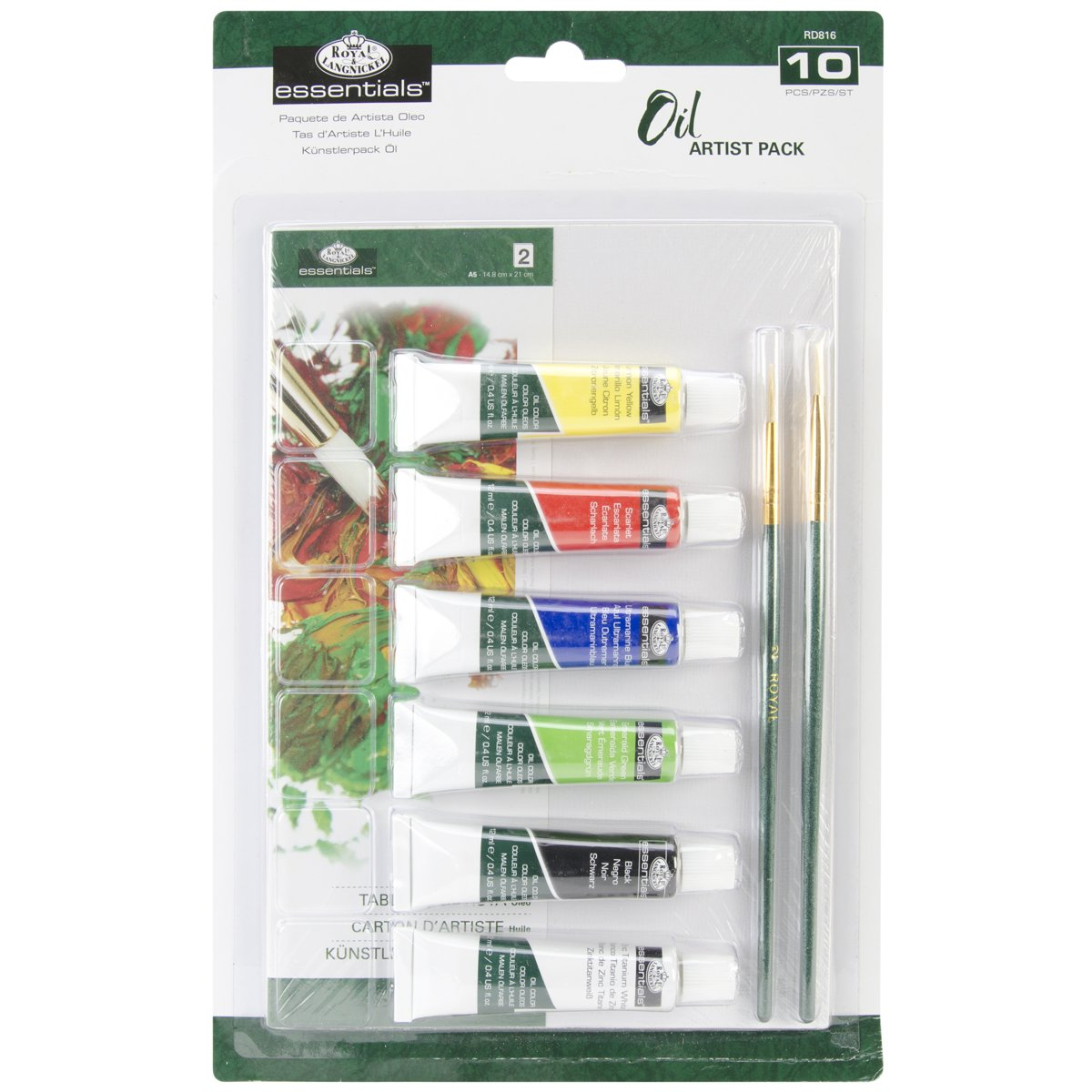 Royal Langnickel /& e superficie Art-Set per pittura a olio