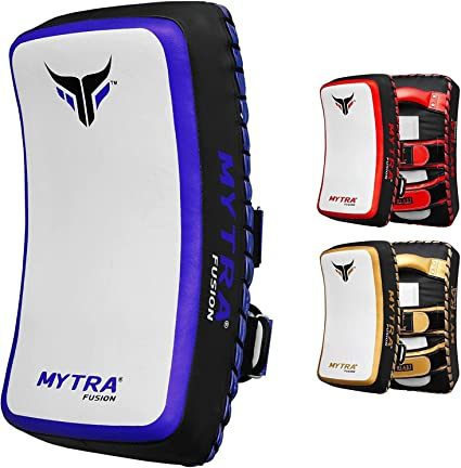 Mytra Fusion Synthetic Leather Strike Pad Boxing Pads Muay Thai MMA Taekwondo Kickboxing Punching Training Pads