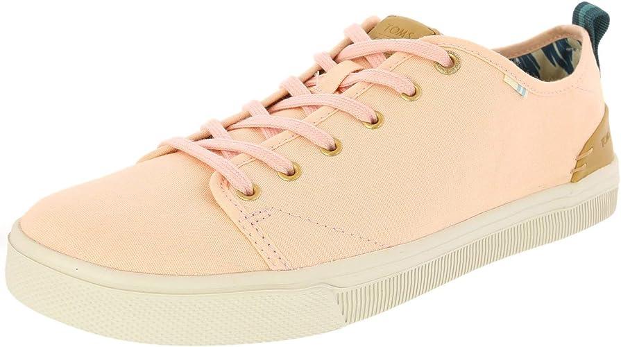 Trvl Lite Low Sneaker Coral Pink Canvas