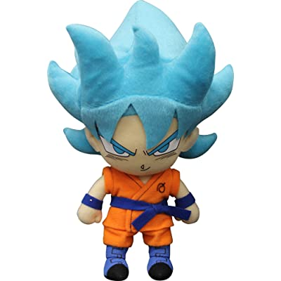 "Great Eastern Entertainment Dragon Ball Super-SSGSS Goku 01 Plush 8"": Toys & Games"