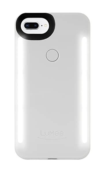 wholesale dealer 363a9 1759f LuMee Duo LD-IP7PLUS-GOLDMT-NA LED dual sided illuminated Selfie Case for  Apple iPhone 8/7/6s/6 Plus in Gold Matte