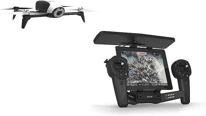 Parrot PF726103AA - Bebop Drone 2, con SkyController, color Negro, Blanco: Amazon.es: Electrónica