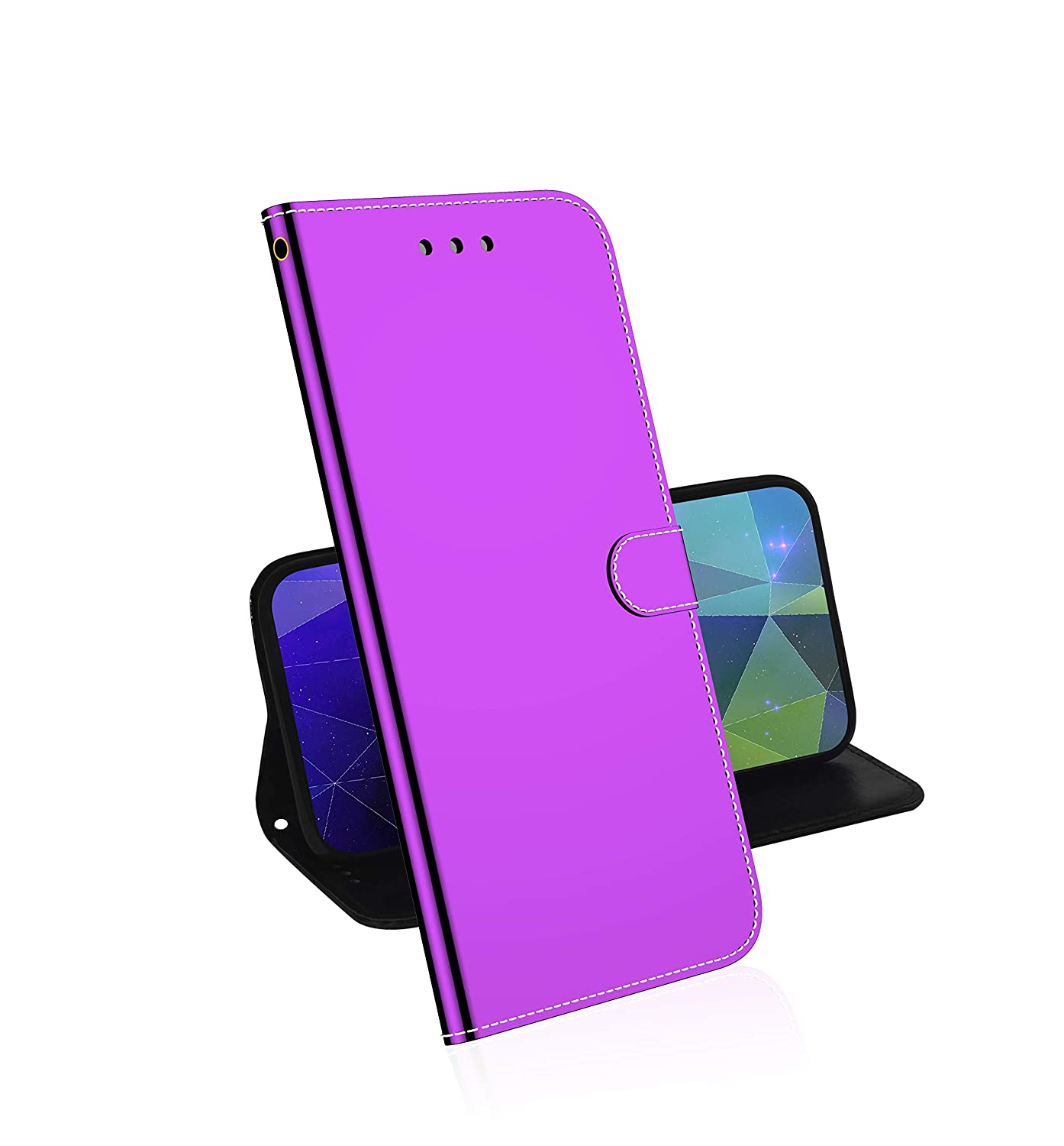 Soporte Plegable Funci/ón Funda Cierre Magn/ético Plata Absorci/ón de Choque TOUCASA Funda iPhone 11 Pro MAX 6,5 Pulgadas PU Cuero Slim Case de Estilo Billetera Carcasa Interna Suave