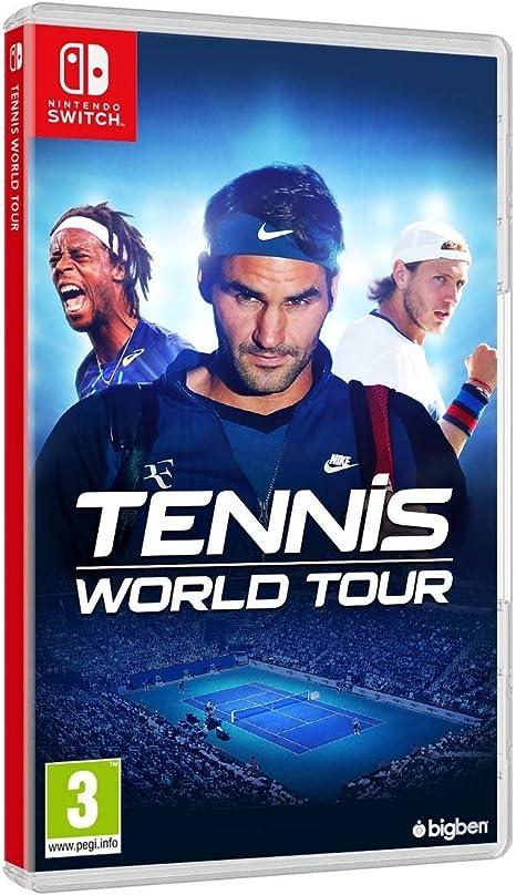 Tennis World Tour (Nintendo Switch): Amazon.es: Videojuegos