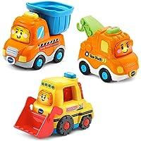 VTech Go! Go! Smart Wheels Construction Vehicle Pack