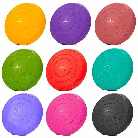 23 opinioni per Cuscino di seduta con pompa per il gonfiaggio incl. / diametro: 33 cm / cuscino