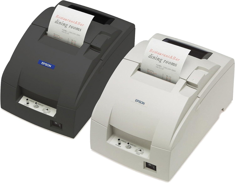 Epson TM-U220B, Ethernet, cartón, Colour Blanco, Incluye NT ...