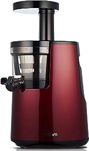 Hurom HH Slow Juicer, Wine (Renewed)