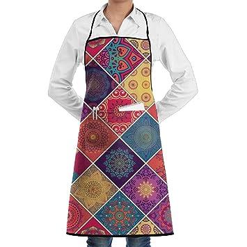 NRIEG Ethno Muster Print Faction Unisex Küche Kochen Garten Schürze ...