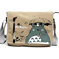 Skisneostype Totoro - Bolso Bandolera de Lona