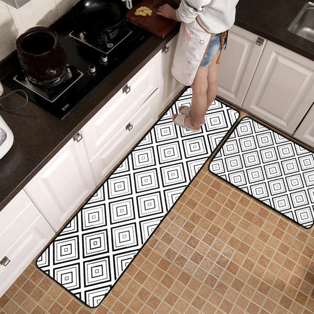 Goodjia Mat Kitchen Rugs Non Slip Kitchen Runners Washable Kitchen