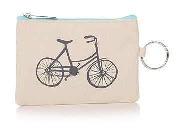 Junction 18 - Monedero para Bicicleta, Color Crema, 13 cm ...