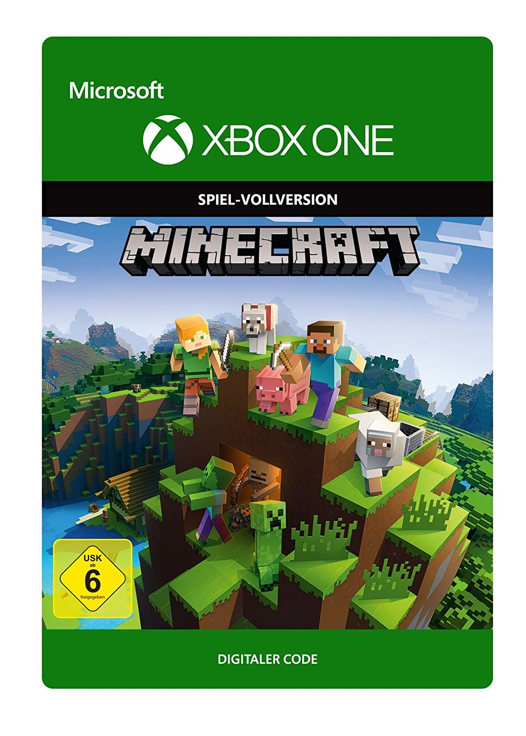 Minecraft Xbox One Download Code Amazonde Games - Minecraft pc spiel vollversion kostenlos