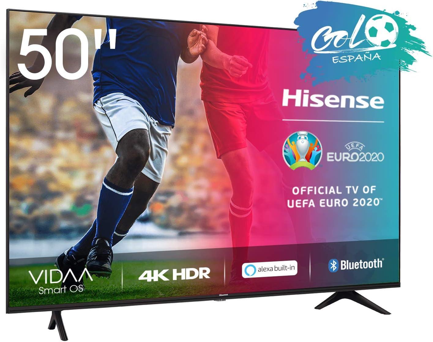 Hisense UHD TV 2020 50AE7000F - Smart TV Resolución 4K