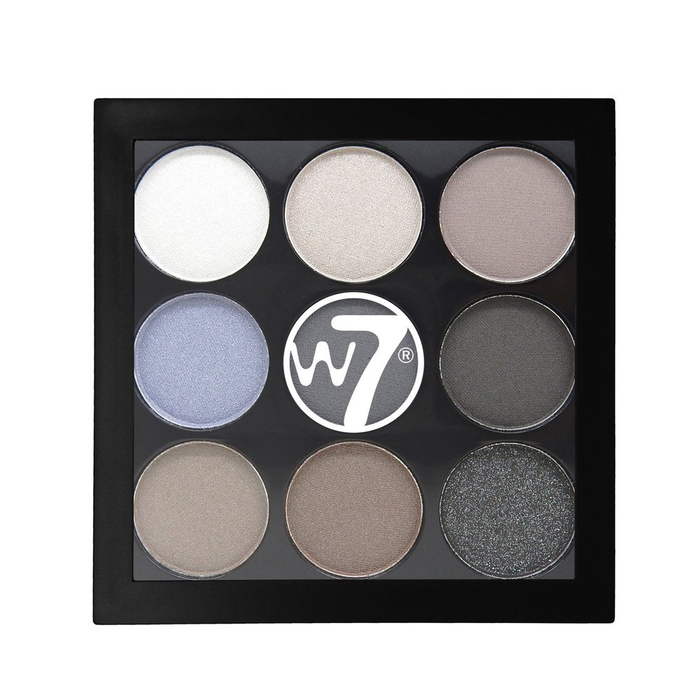 W7 The Naughty Nine Shades of Eye Colour Eyeshadow Palette-Hard Day's Night