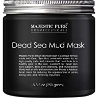 MAJESTIC PURE Dead Sea Mud Mask - Natural Face and Skin Care for Women and Men -...