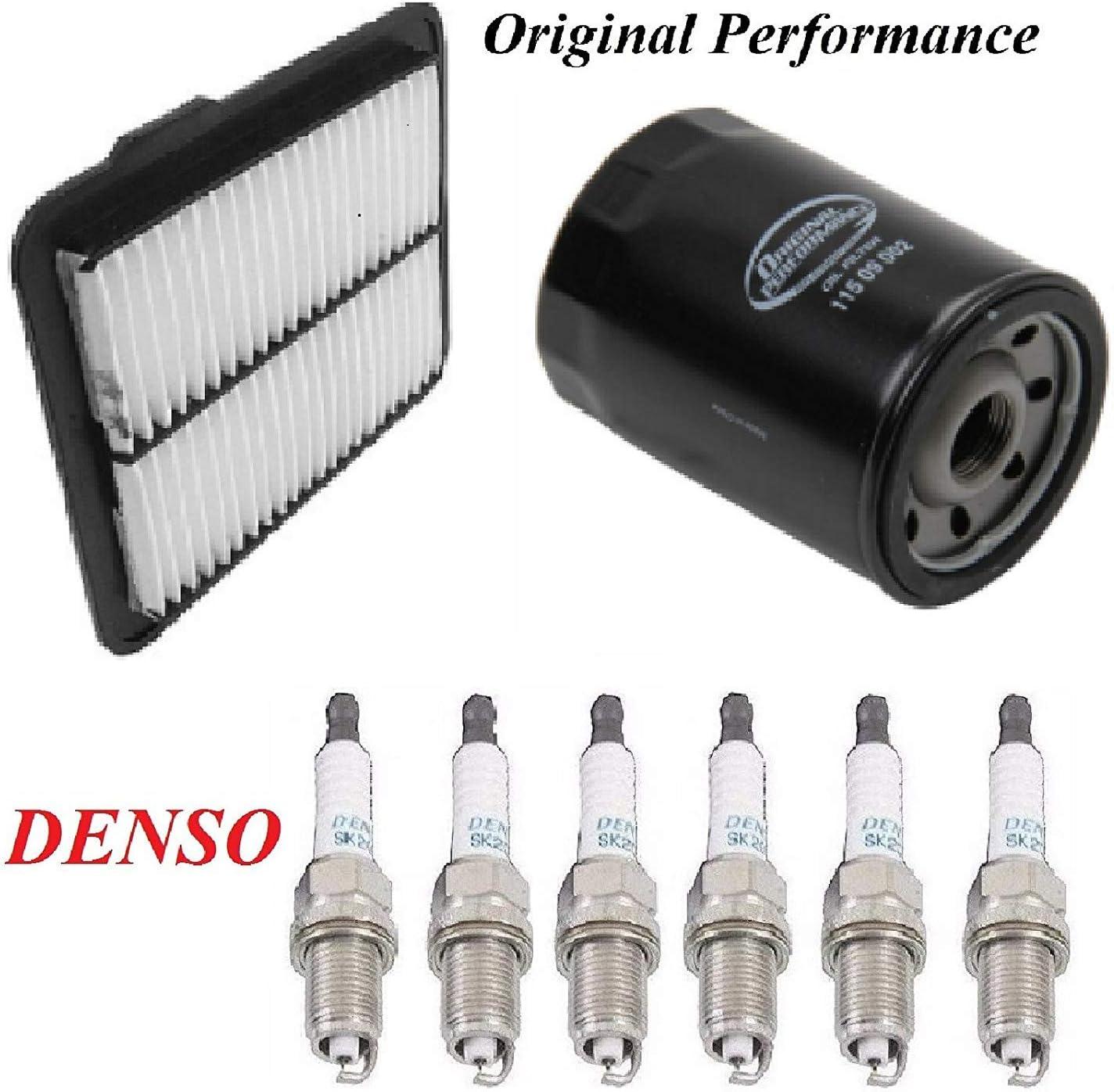Tune Up Kit Air Oil Filters Spark Plug FIT PONTIAC G6 V6; 3.6L 2007