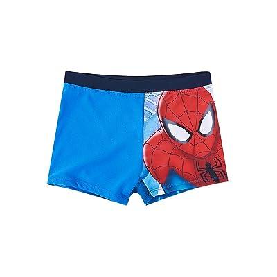 Boxer de bain enfant garçon Spider-man Bleu de 4 à 10ans
