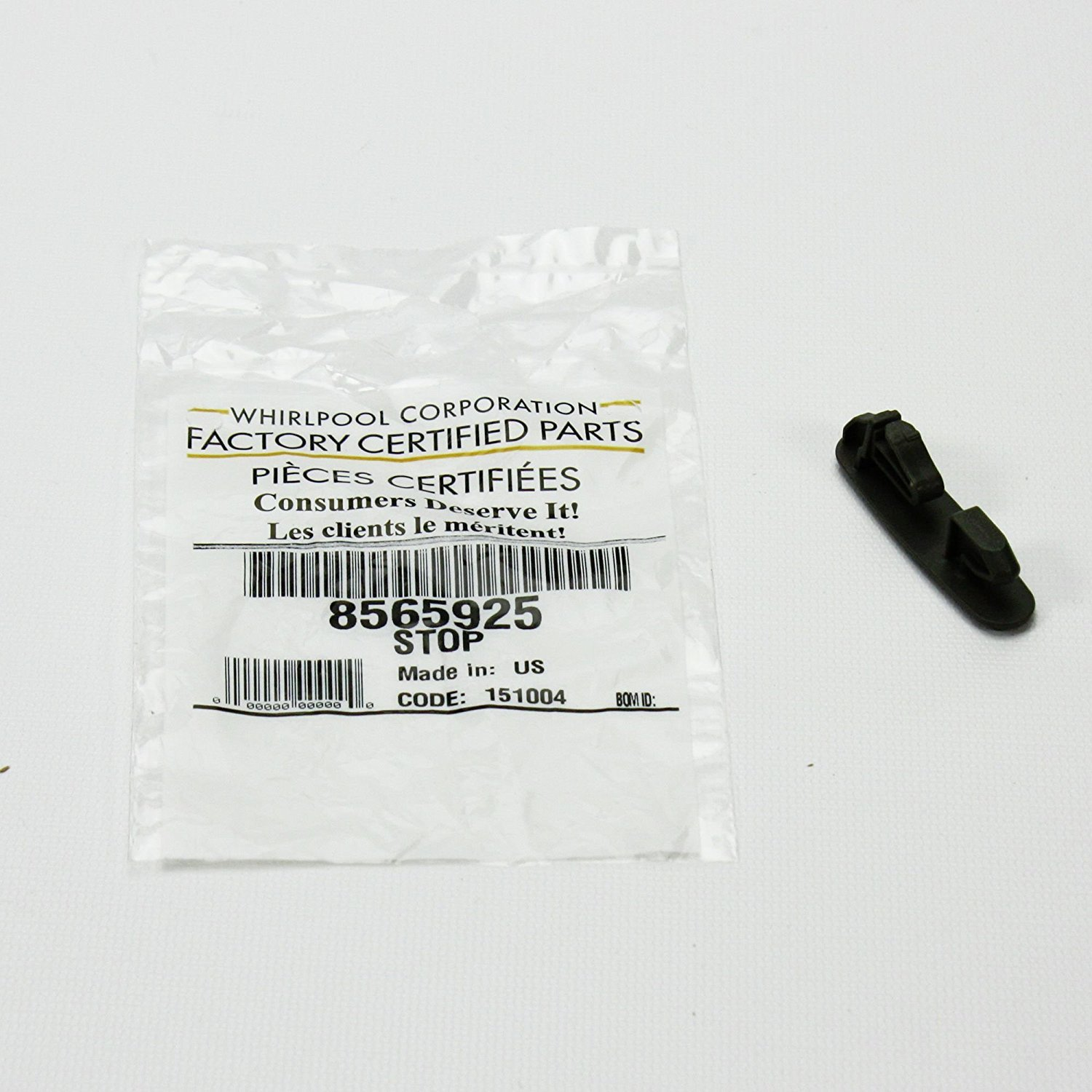 Parts Diagram List For Model Wed9600tw0 Whirlpoolparts Dryer Whirlpool Part Number 8565925 Stop Track