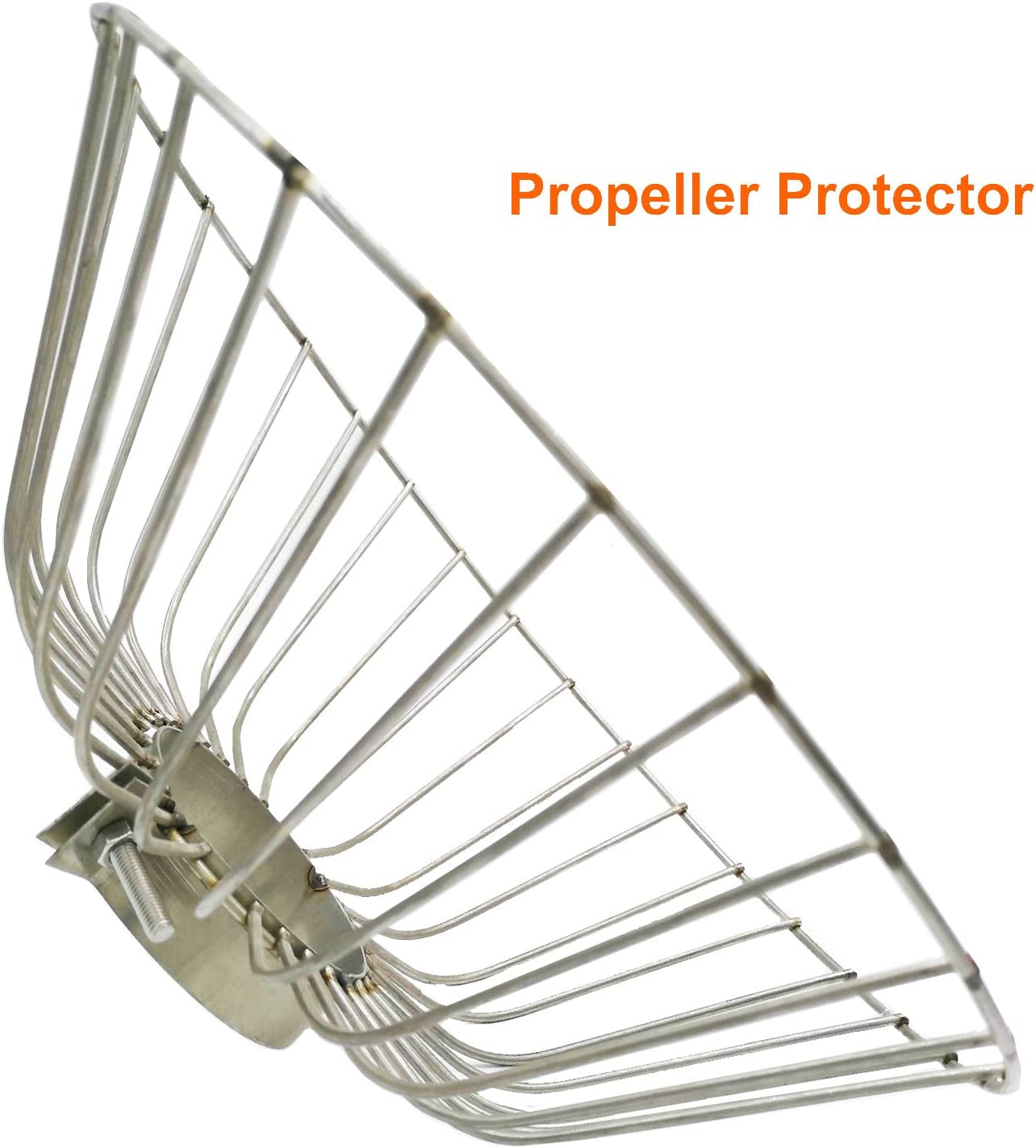 BXI Propeller's Safety Cage Prop Protection Trolling Motor Propeller Protector Anti-Winding Anti Aquatic Plants Canoe Kayak Boat Thrust Protective Stainless Steel Net