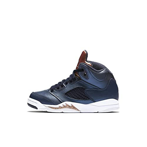 888d25f393fdcd Nike Air Jordan 5 Retro BP Obsidian Bronze 440889-416  Amazon.ca ...