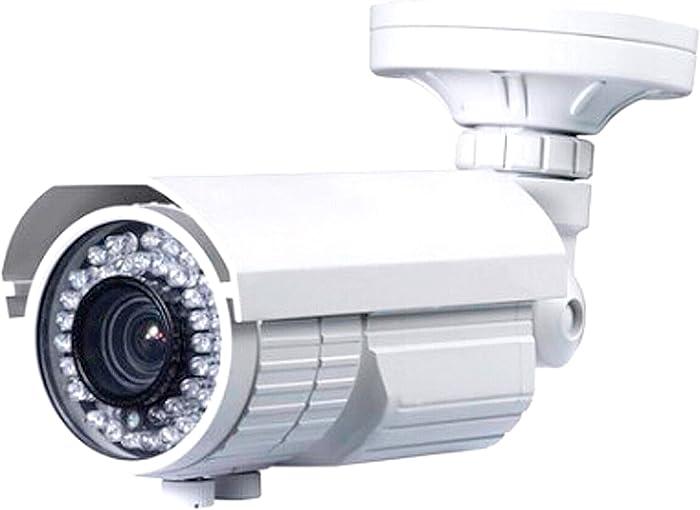 Urban Security Group 5MP IP PoE CCTV Bullet Security Camera: 5-50mm Long Range 10x Zoom Manual Vari-Focal Telephoto Lens, 200ft IR LED, IR-Cut, IP66 Outdoor Weatherproof, H.265, ONVIF