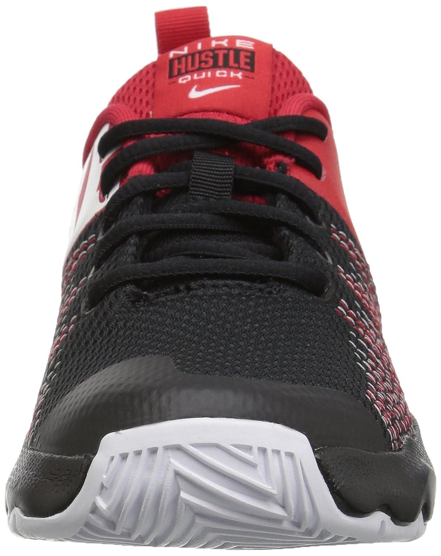 Nike Team Hustle Quick (GS), Zapatillas de Baloncesto para Hombre, Multicolor (Black/White/University Red 002), 40 EU