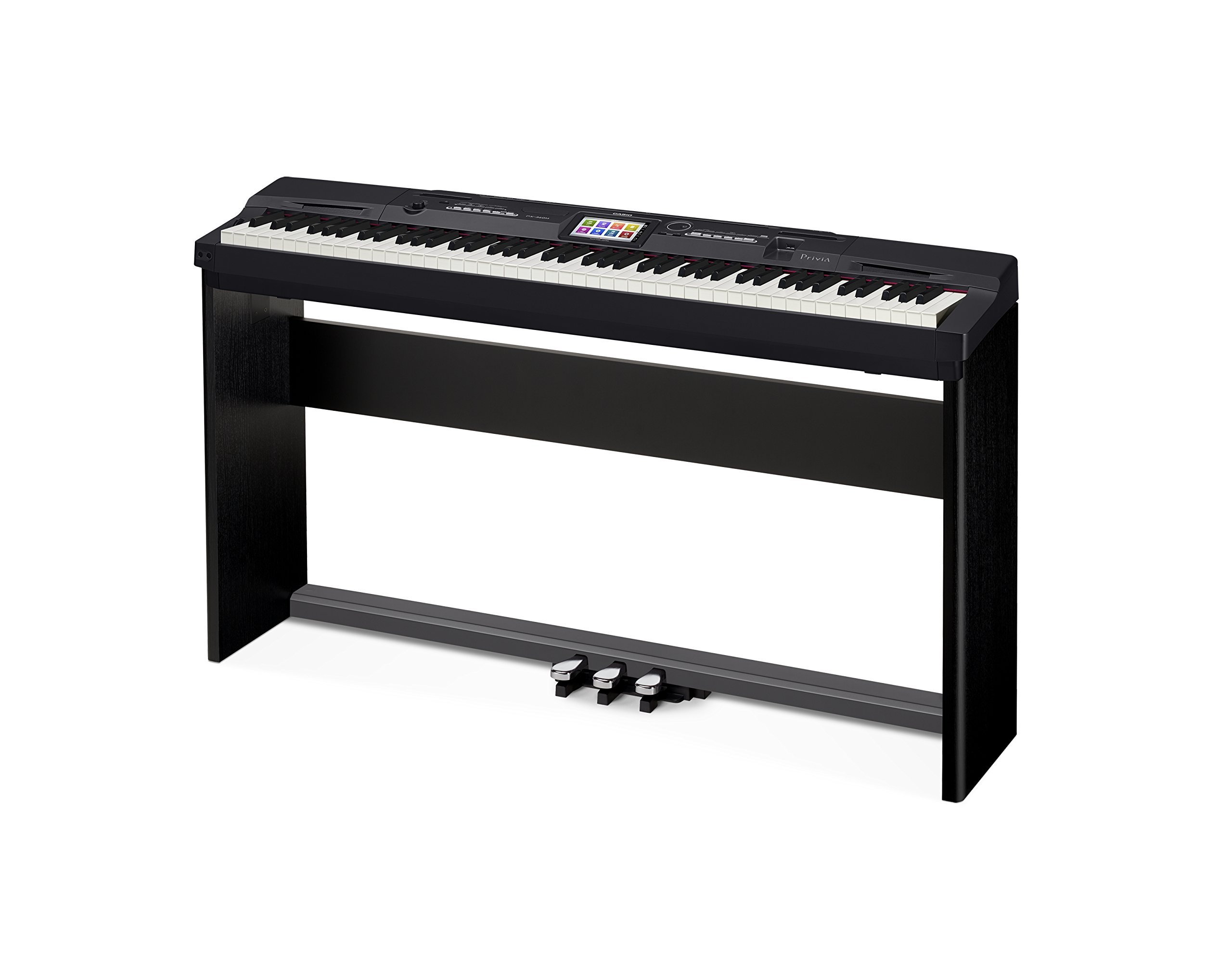 Casio Privia PX-360 Digital Piano - Black Bundle with CS-67 Stand, SP-33 Pedal, Furniture Bench, Instructional Book, Austin Bazaar Instructional DVD, and Polishing Cloth by Casio (Image #5)