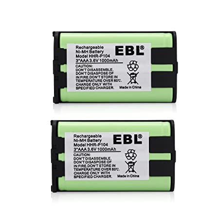 Review EBL 2 Packs 3.6V