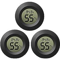 EEEkit Hygrometer Thermometer Digital LCD Monitor Indoor Outdoor Humidity Meter Gauge for Humidifiers Dehumidifiers…