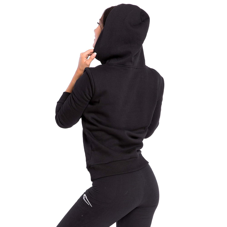 SMILODOX Damen Hoodie 'Obscurity'  Hoodie für Sport Sport Sport Fitness & Freizeit   Sportpullover - Sweatshirt Pulli - Pullover mit Kapuze - Langarm   Kängerutaschen B07FYP723J Kapuzenpullover Unsere Kleidung gibt Ihnen viel SelbstGrünrauen ca0943