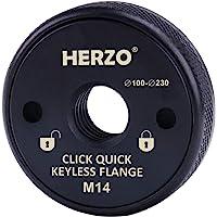 HERZO Tuerca de Sujeción Rápida M14 para amoladora angular AEG, Black&Decker,…