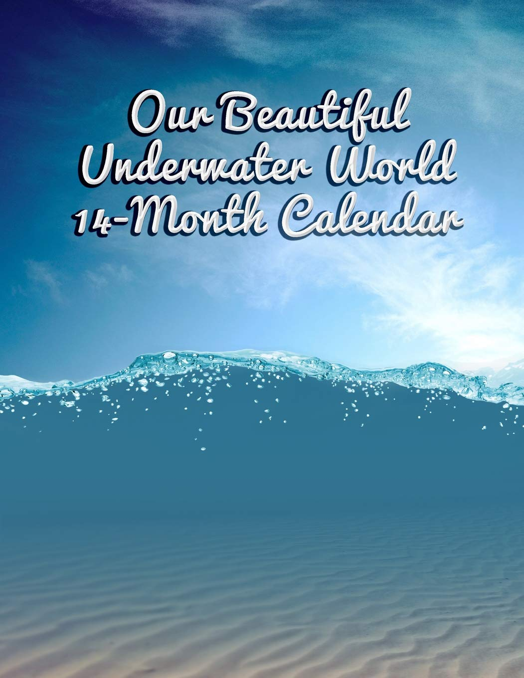 Book It Calendar February 2020 Amazon.com: Our Beautiful Underwater World 14 Month Calendar