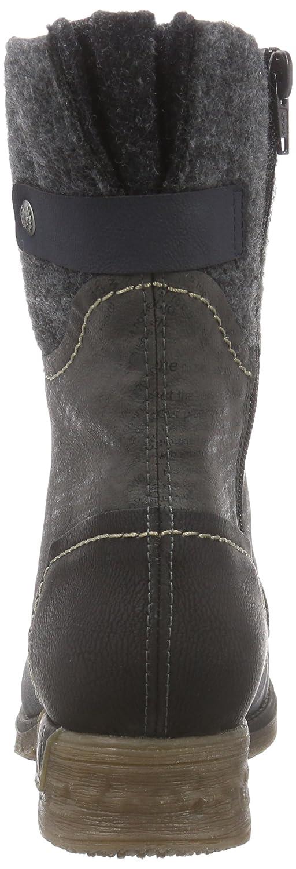 Rieker 79624 Damen Halbschaft Stiefel  Amazon.de  Schuhe   Handtaschen f84d874236